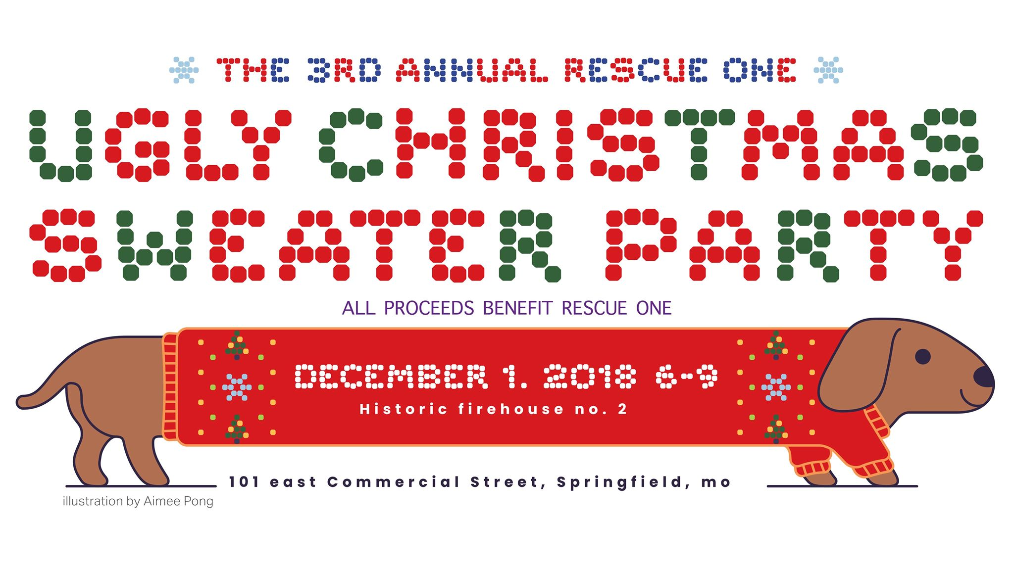 Ugly Sweater Christmas Party – Rescue One