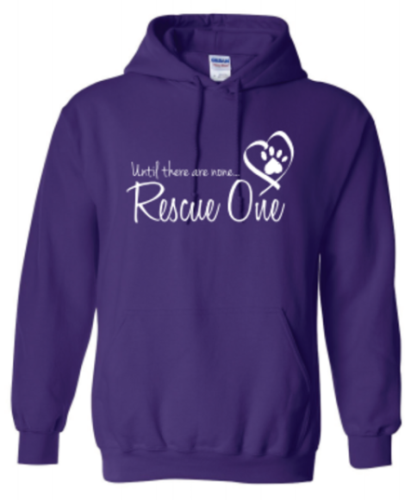 Purple Rescue One Hoodie
