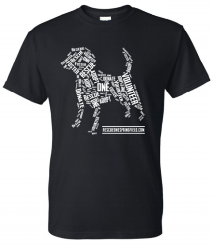 Black Rescue One T Shirt